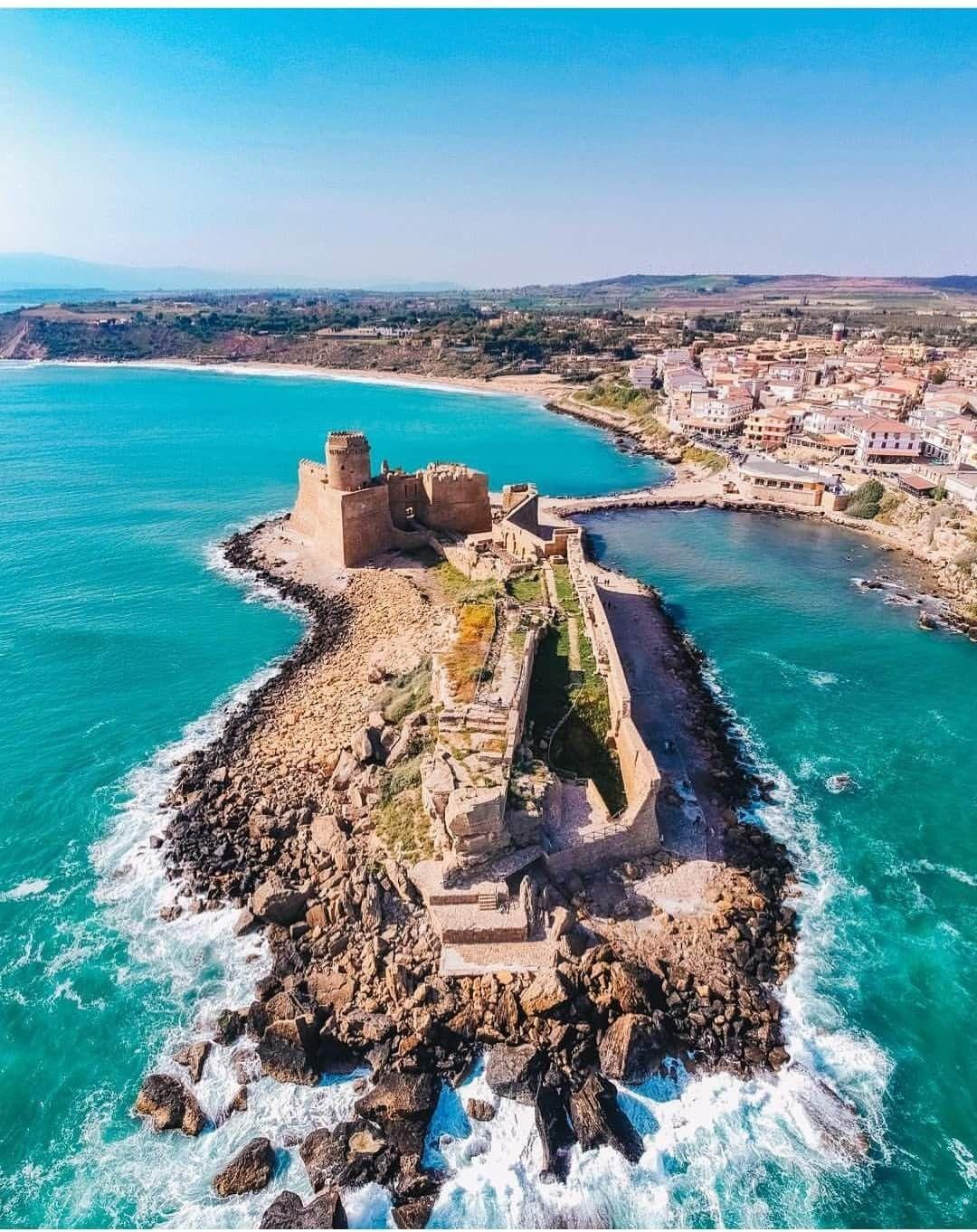 Isola di Capo Rizzuto Le Castella Paesaggi, Italia
