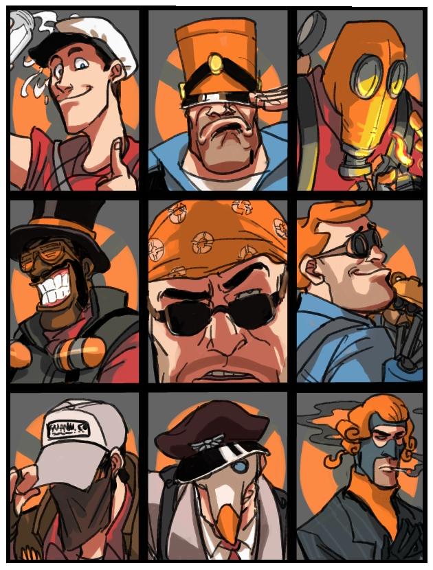 Orange Mann Co Orange Mann Co Orange Colored Hats Beautiful Team Fortress Team Fortess 2 Team Fortress 2