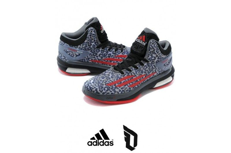 new product 7582f 9e395 Men s Adidas Damian Lillard Leopard Shoes