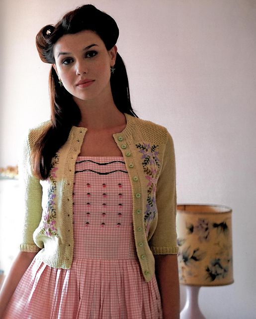 Hedy Tyrolean-Pattern Cardigan pattern by Madeline Weston and Rita ...