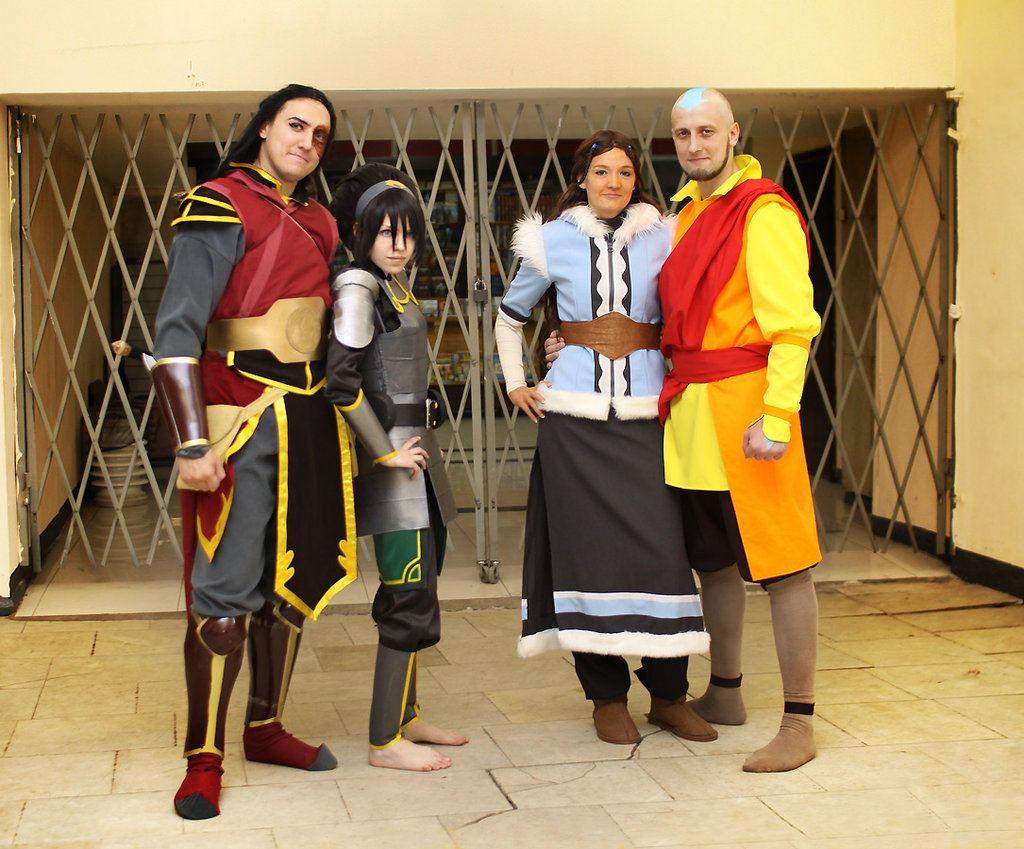 Katara, Aang, Toph, Zuko Avatar by TophWei.deviantart