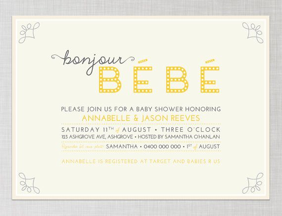printable french inspired baby shower