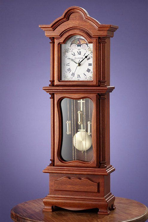 Charming Go To The Nearest Thrift Store And Find A Small Standing Grandfather Clock  As A Table Centrepiece
