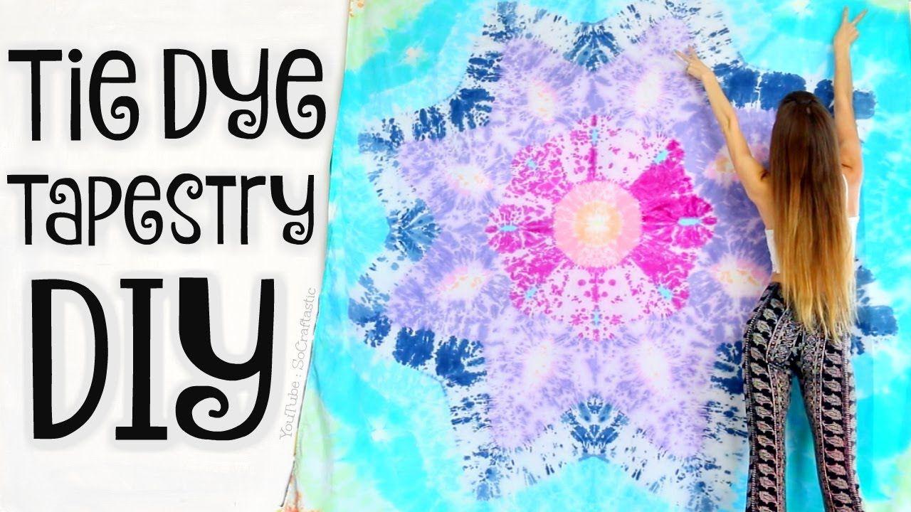 Tie dye Queen Flat Sheet or Mandala Tapestry