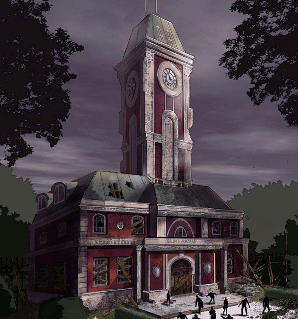 Saint Michael Clock Tower Lutador