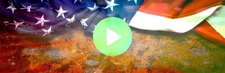 States Flag On Dark Rusty Background banner size copyspace for your individual text United States Flag On Dark Rusty Background banner size copyspace for your individual...