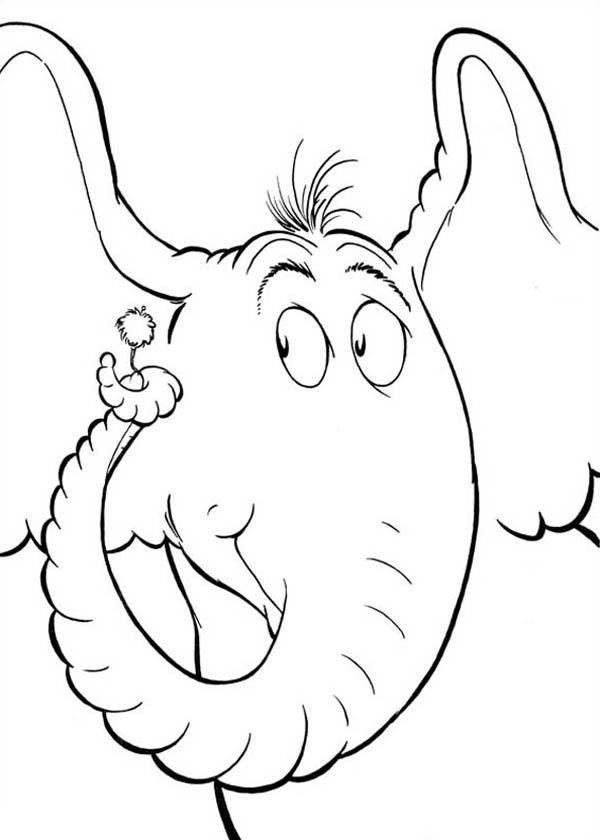 http://colorings.co/horton-coloring-page/ | Colorings | Pinterest ...