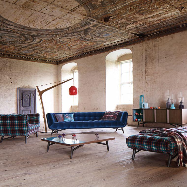 PROFILE LARGE 4-SEAT SOFA (SOFAS, Nouveaux Classiques collection - moderne esszimmer mobel roche bobois