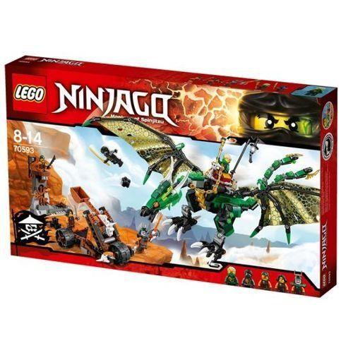 Lego ninjago 70593 jeu de construction le dragon emeraude de lloyd jeux et - Ninja vert lego ...