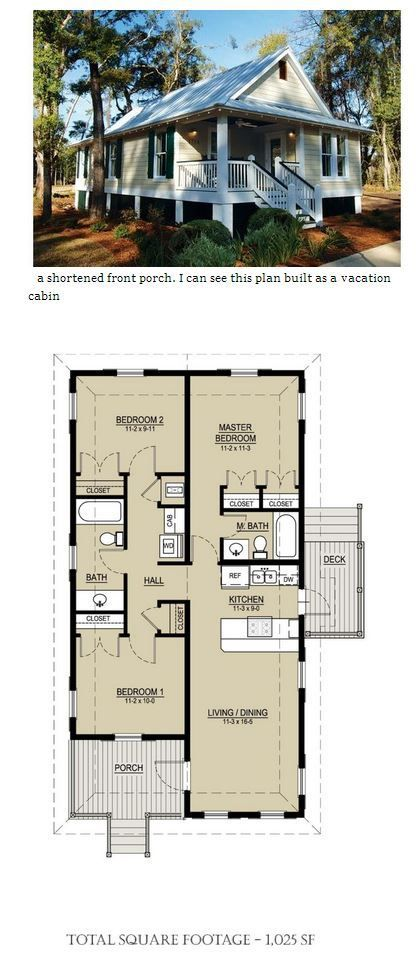 This Is My Favourite Plan So Far The Front Bedroom Would Be My Library Study Room House Plans Cottages And Bungalows Cottage Plan