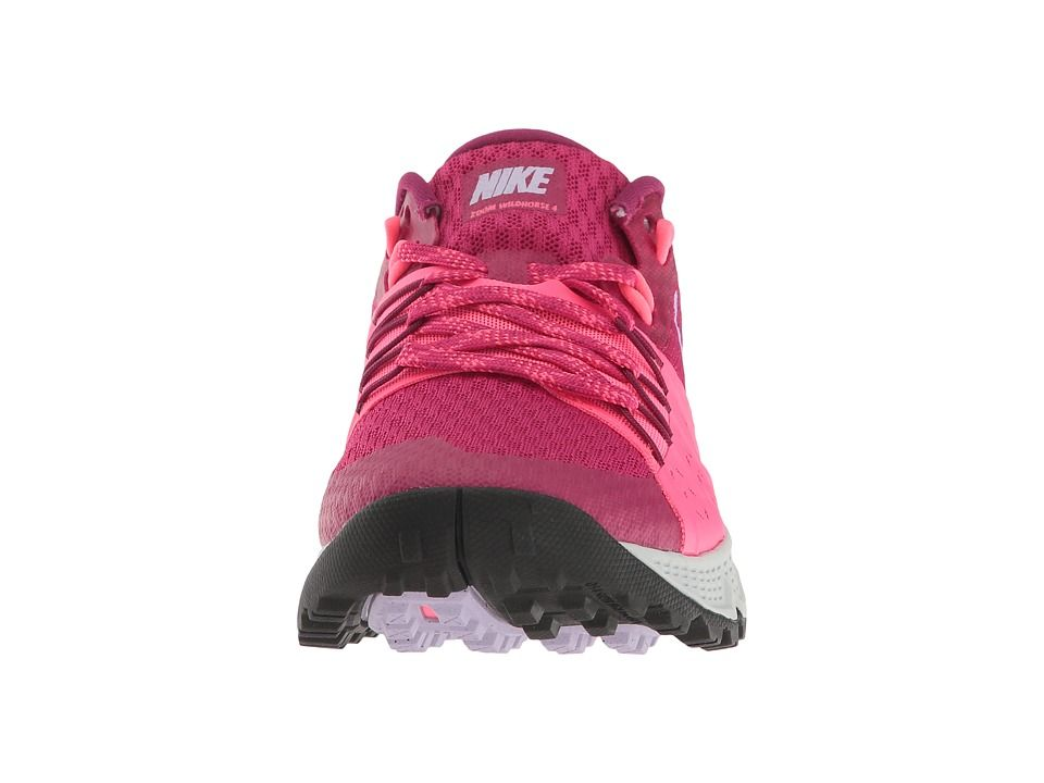 cfe1af0e56ac0 Nike Air Zoom Wildhorse 4 Women s Running Shoes Sport  Fuchsia Hydrangeas Racer Pink