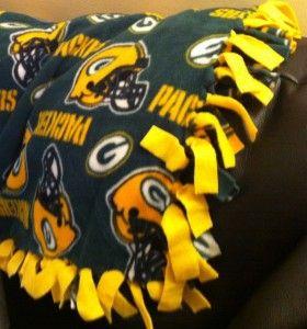 Fun \u0026 easy to make! Fleece Tie BlanketsGreen Bay PackersNo Sew NflRibbonsQuiltingFootball & Fun \u0026 easy to make! | Just for FUN! | Pinterest | Tie blankets ... pillowsntoast.com