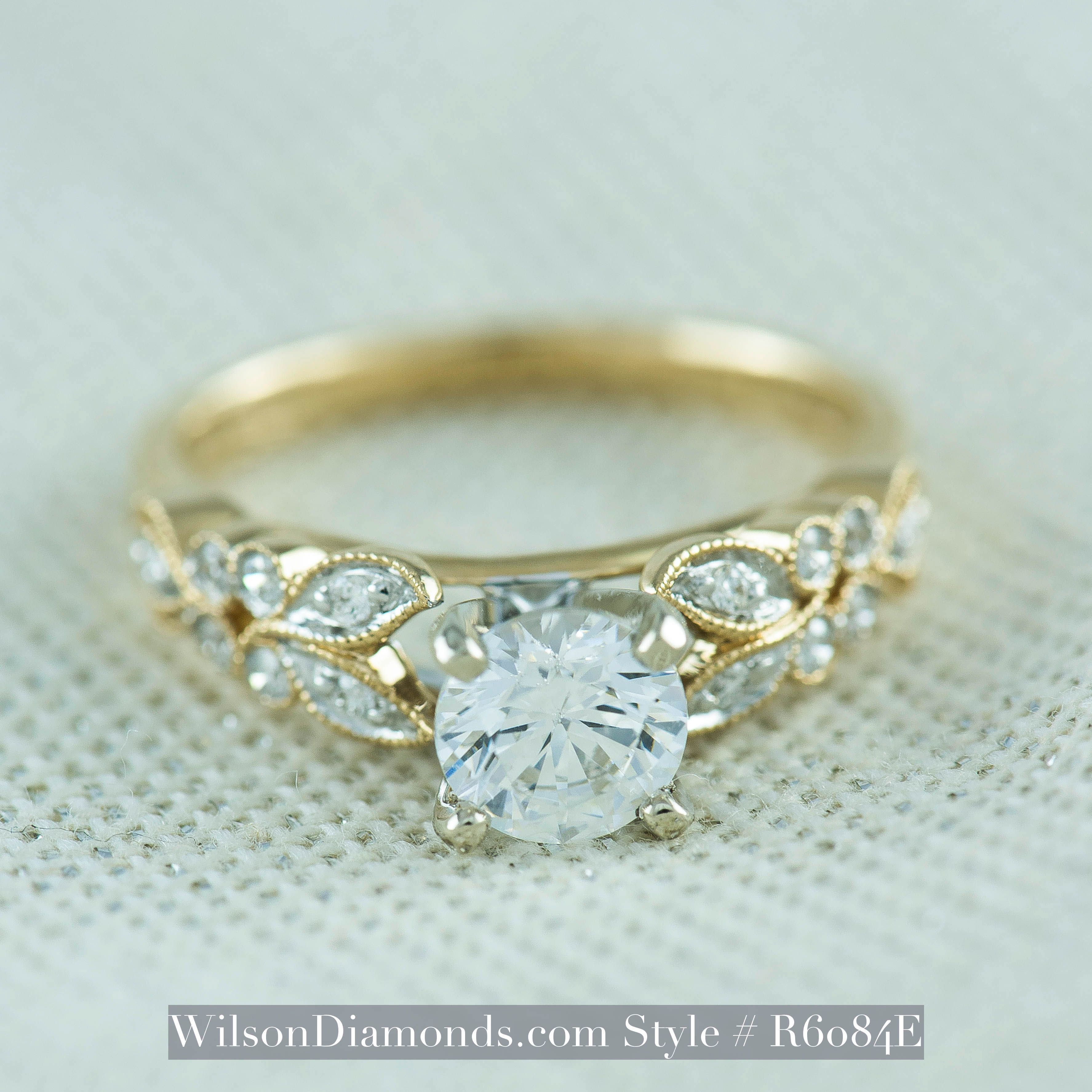 Awesome Vintage Wedding Rings Design