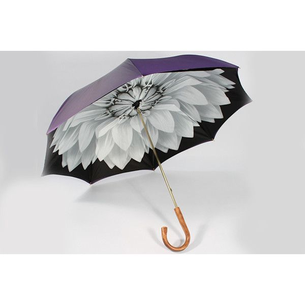 May Flowers Bloom In Illesteva's Debut Umbrella Collection ❤ liked on Polyvore