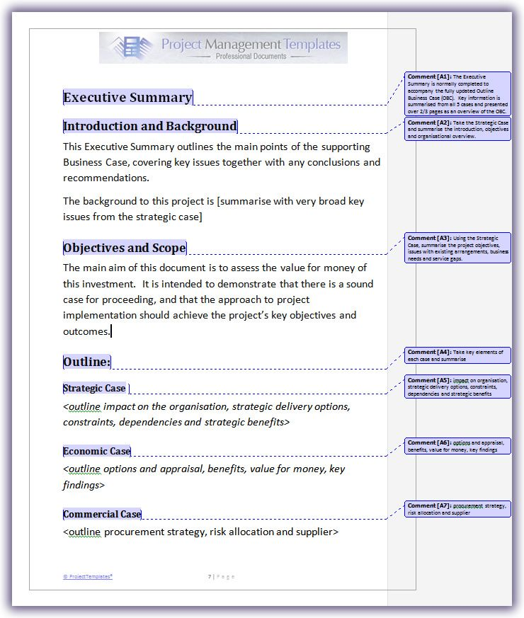 Business case project templates gda pinterest sample resume business case project templates friedricerecipe Image collections