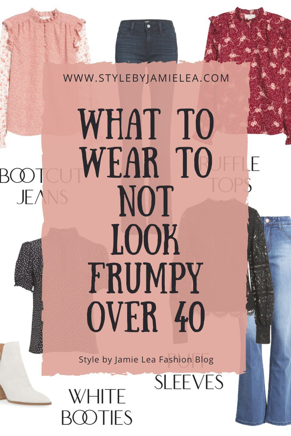 What to Wear to Not Look Frumpy Over 40   stay at home mom capsule