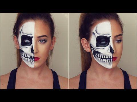Skelett Anleitung Halloween Pinterest Halloween Makeup