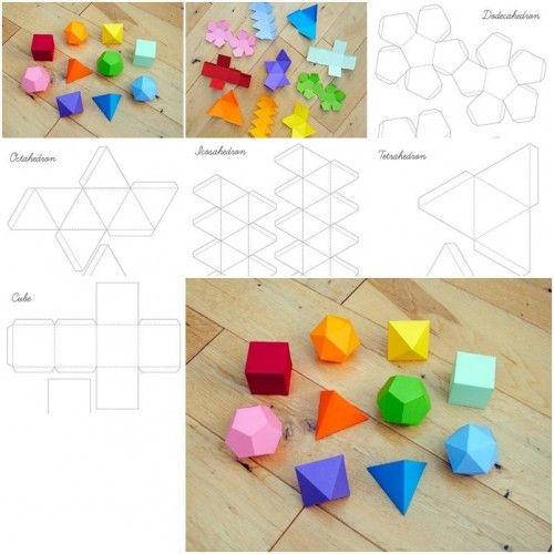 How to Make Geometrical Box Templates step by step DIY tutorial ...