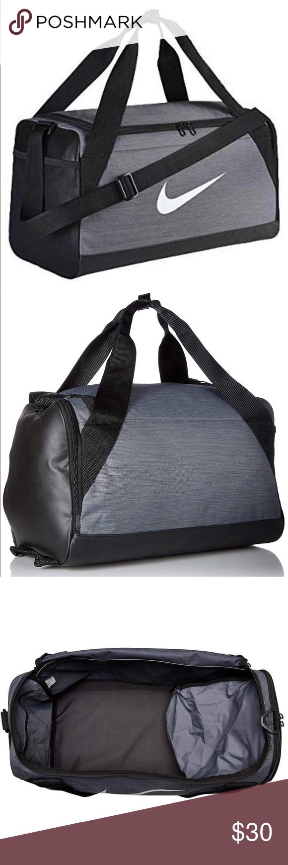 6a7fa7439 Nike Brasilia 8 Small Duffel Bag - Grey Nike Brasilia 8 Duffle Bag Model:  BA5335