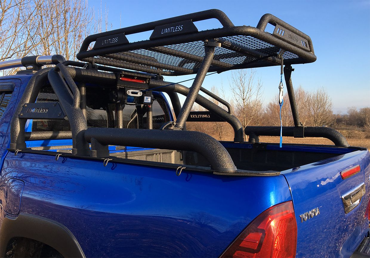 Limitless Accessories  Off-Road : Limitless ROCKY roof ...
