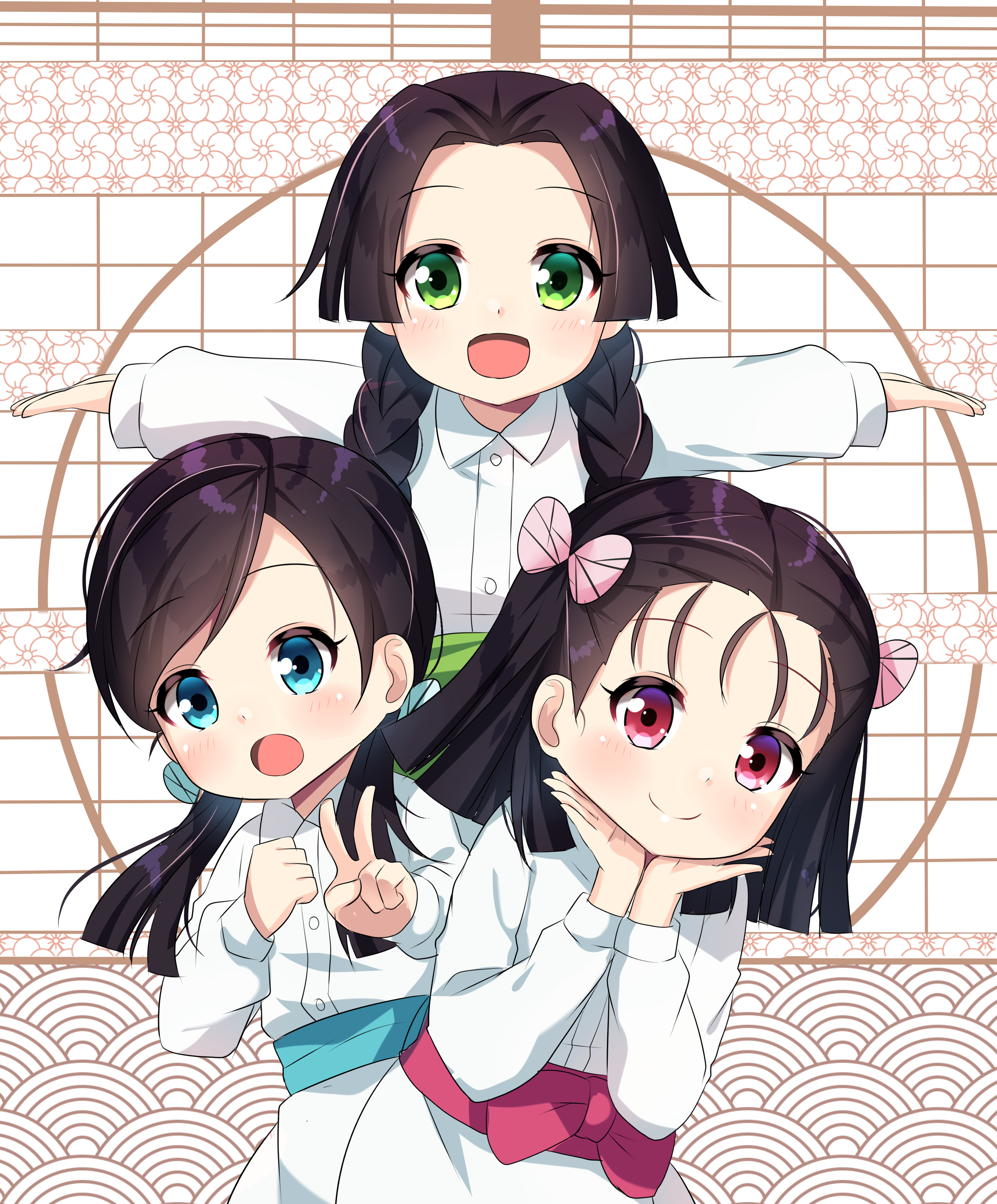 Sumi Nakahara, Kiyo Terauchi and Naho Takada Demon Slayer