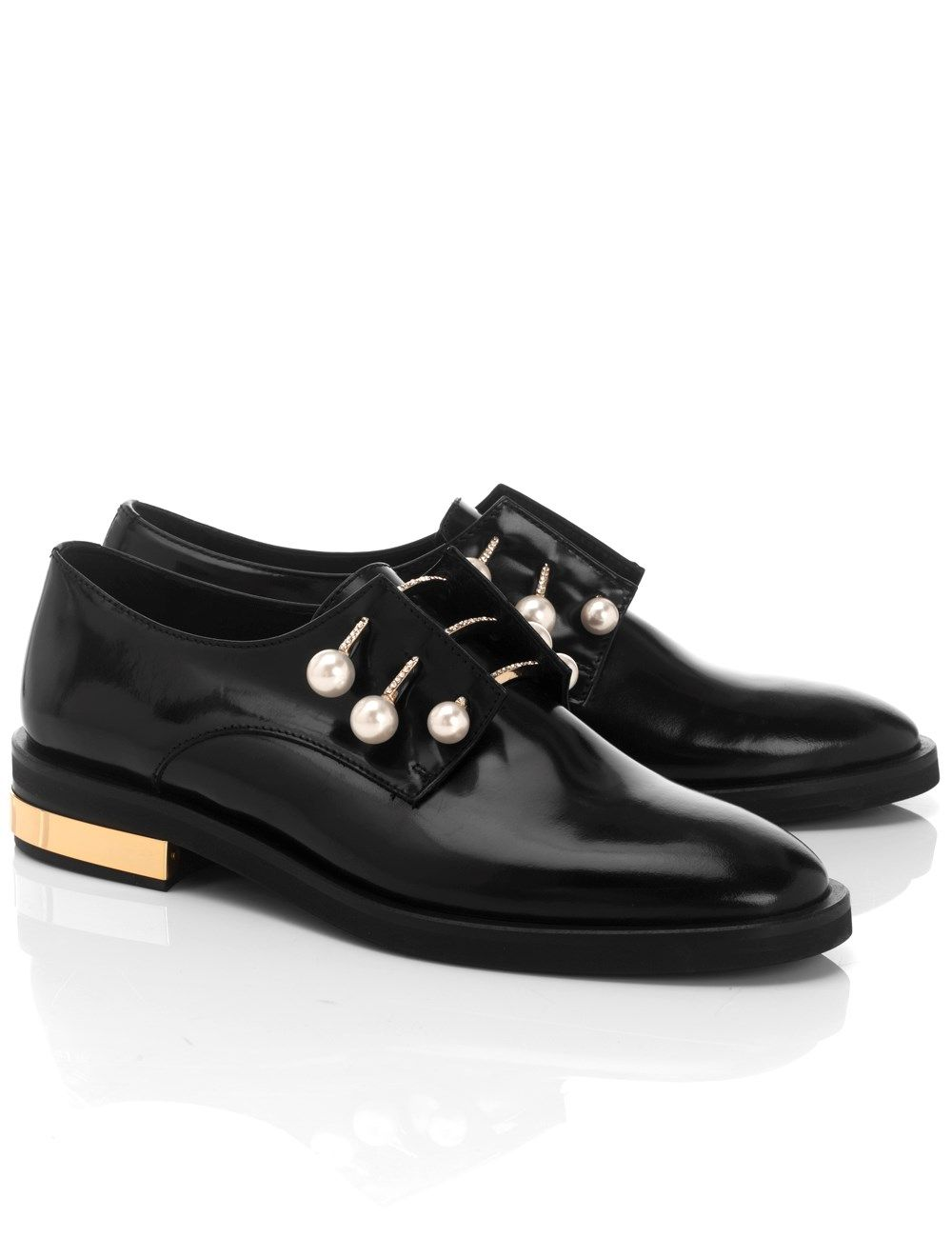 Slip on Sneakers for Women On Sale, Gunmetal, Patent Leather, 2017, 6 Coliac di Martina Grasselli
