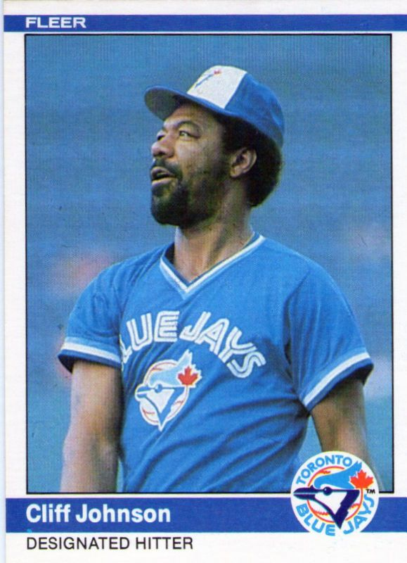 Cliff Johnson Mlbmy Beasts In The East Toronto Blue