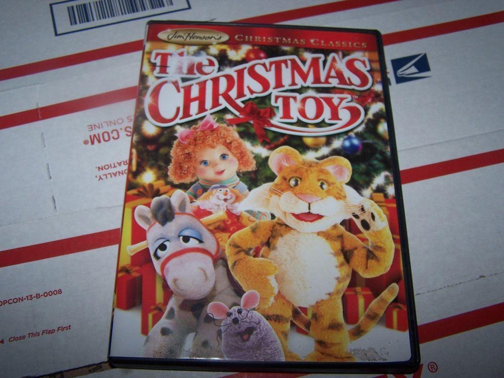 The Christmas Toy - (Jim Henson) DVD | EBAY..GBBjr\'S | Pinterest | Movie