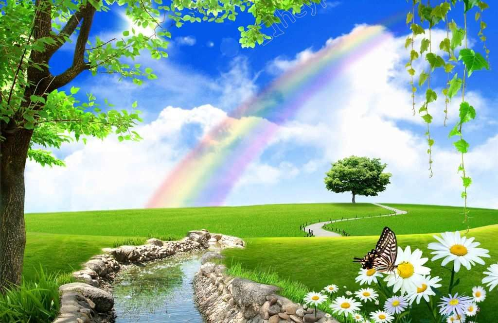Naturally The Brook Rainbow Flowers Png Vector Nature Backgrounds Beautiful Nature Beautiful Images Nature