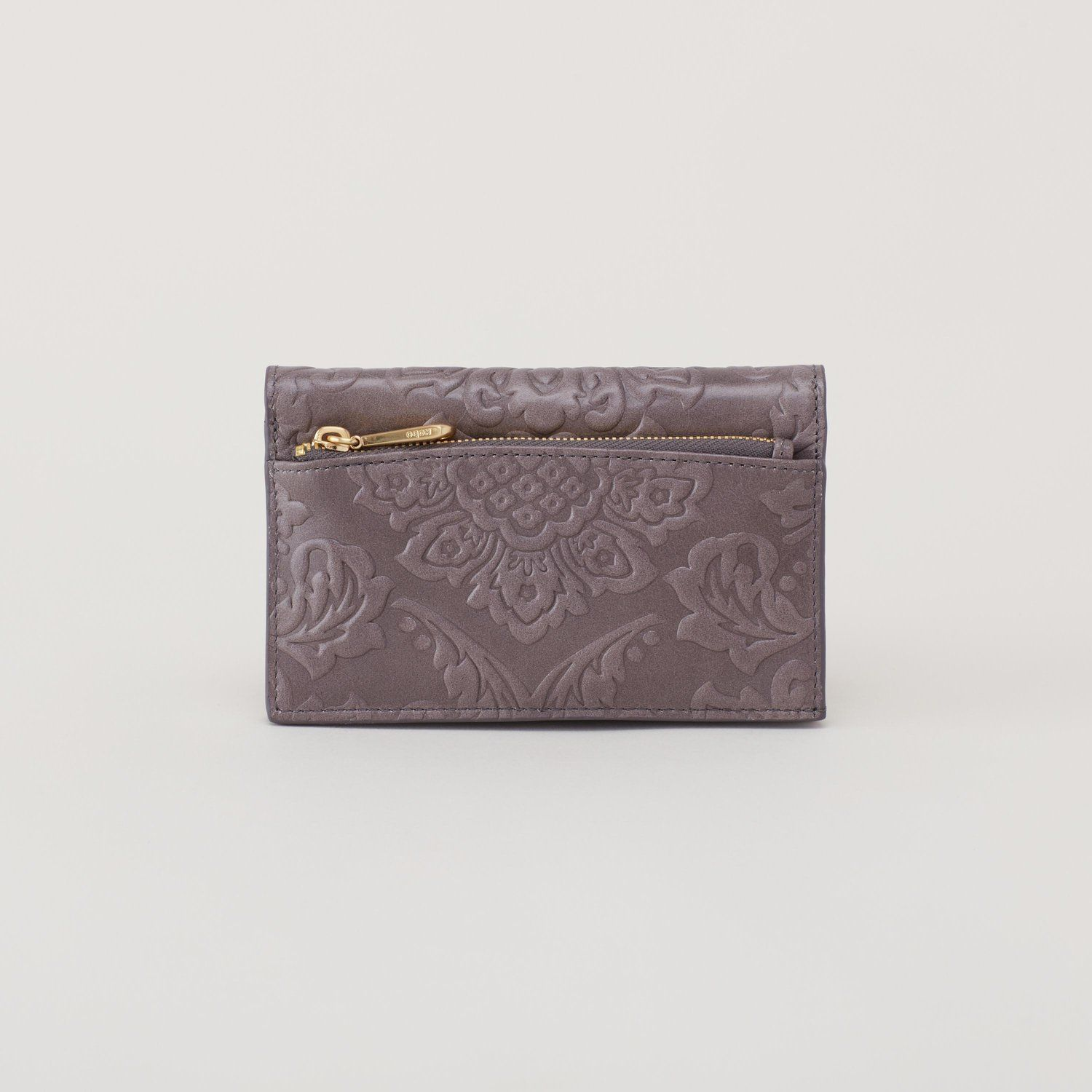 VIDA Leather Statement Clutch - Forest Floor by VIDA quain