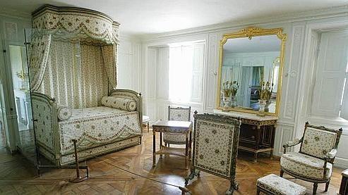 Petit Trianon-Chambre de la Reine PALACIO DE VERSALLES Pinterest