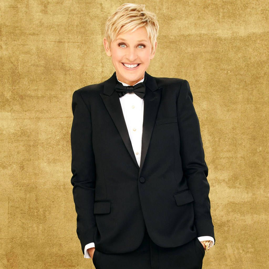 Ellen Degeneres' Best Red Carpet Looks - Ellen Degeneres' Photos - Harper's BAZAAR OMG I just love Ellen anf her wife Portia!