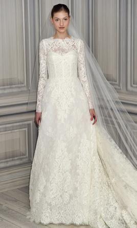 Monique Lhuillier Catherine Wedding Dress Used Size 2 3 500