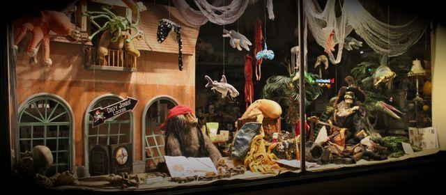 Pirate Store Window | window display | Store, Windows, Room
