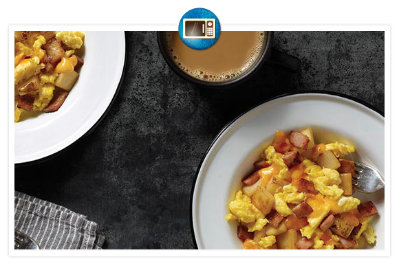 Jimmy Dean | Ham Breakfast Bowl  #Jimmy Dean Yummy Bowls!