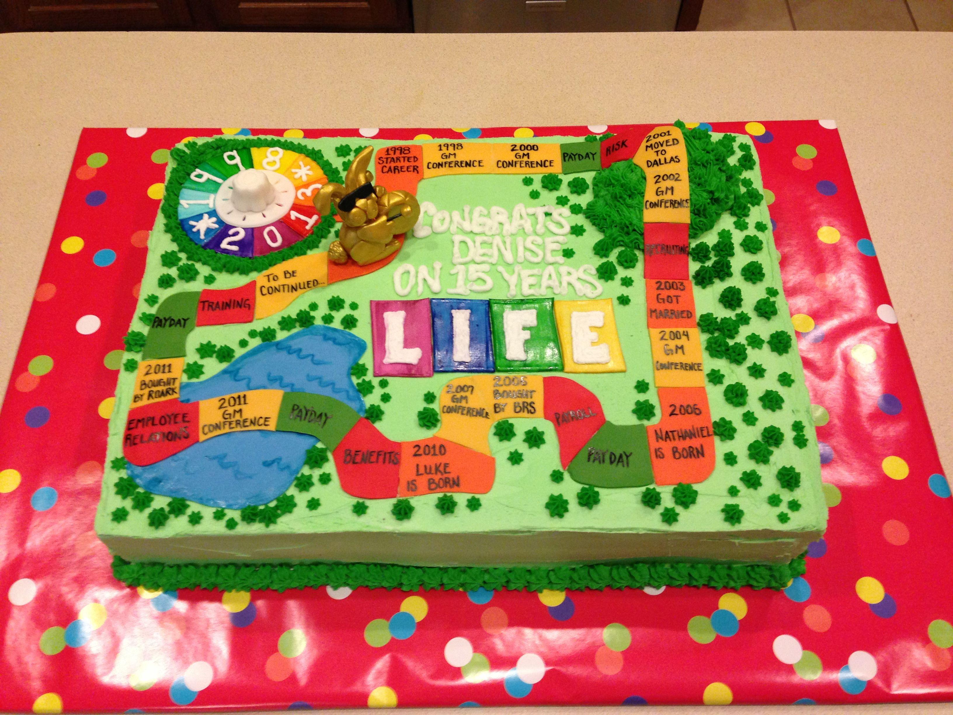 Game Of Life Cake