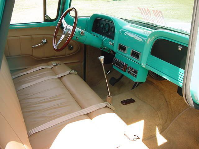 1962 Chevy C 10 Interior Chevy Trucks Chevy Pickup Trucks Truck Interior