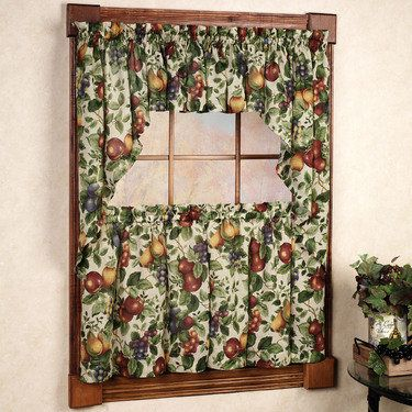 Sonoma Fruit Tier Window Treatments In 2019 Miscellaneous Pinterest Fruit Kitchen Decor