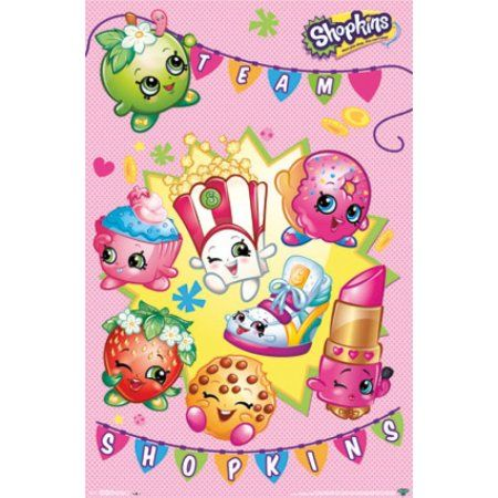 Shopkins   Shop Poster Print (24 X 36)