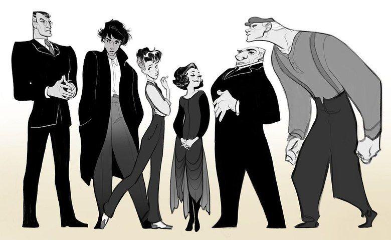 Animation Character Design Portfolio : Olivia margraf posta character design portfolio portfolio