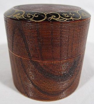 Natsume Tea Caddy In Fubuki Style 71921 in Collectibles,Cultures & Ethnicities,Asian | eBay