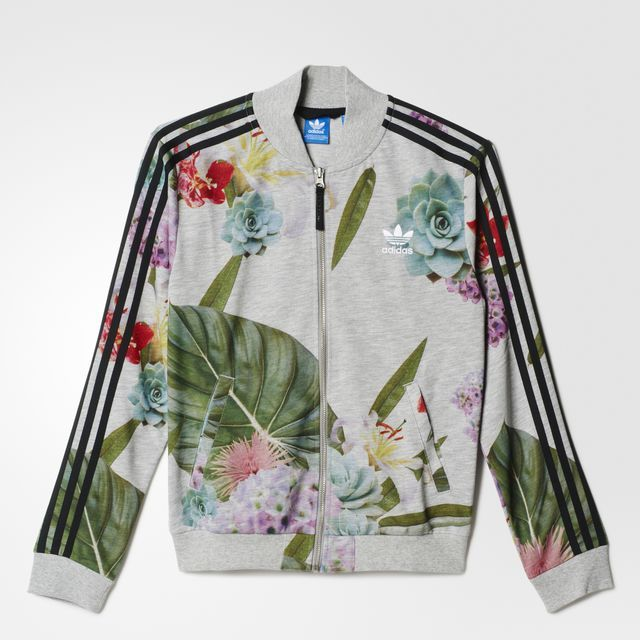 1cf834e05 adidas - CAMPERA ORIGINALS TRAIN FLORAL TT MUJER | mariana's en 2019 ...