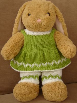 Knitted Clothes to Fit Build A Bear Size Bears - Belinda ...