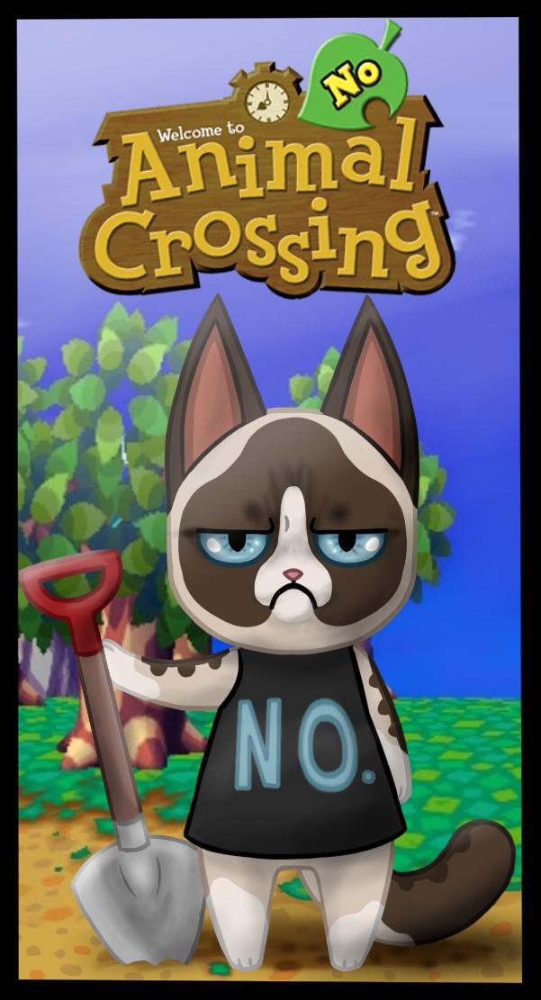 Animal Crossing No by FireGirl872 Animal crossing