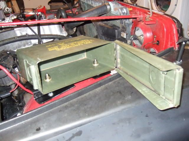 Ammo Can Underhood Storage Write Up Jeepforum Com Ammo Cans Jeep Tj Jeep Yj