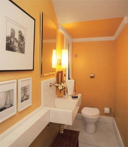 baño-visita-pequeño-16 | cuarto de baño | pinterest | baño de ... - Decoracion Bano De Visitas Pequeno