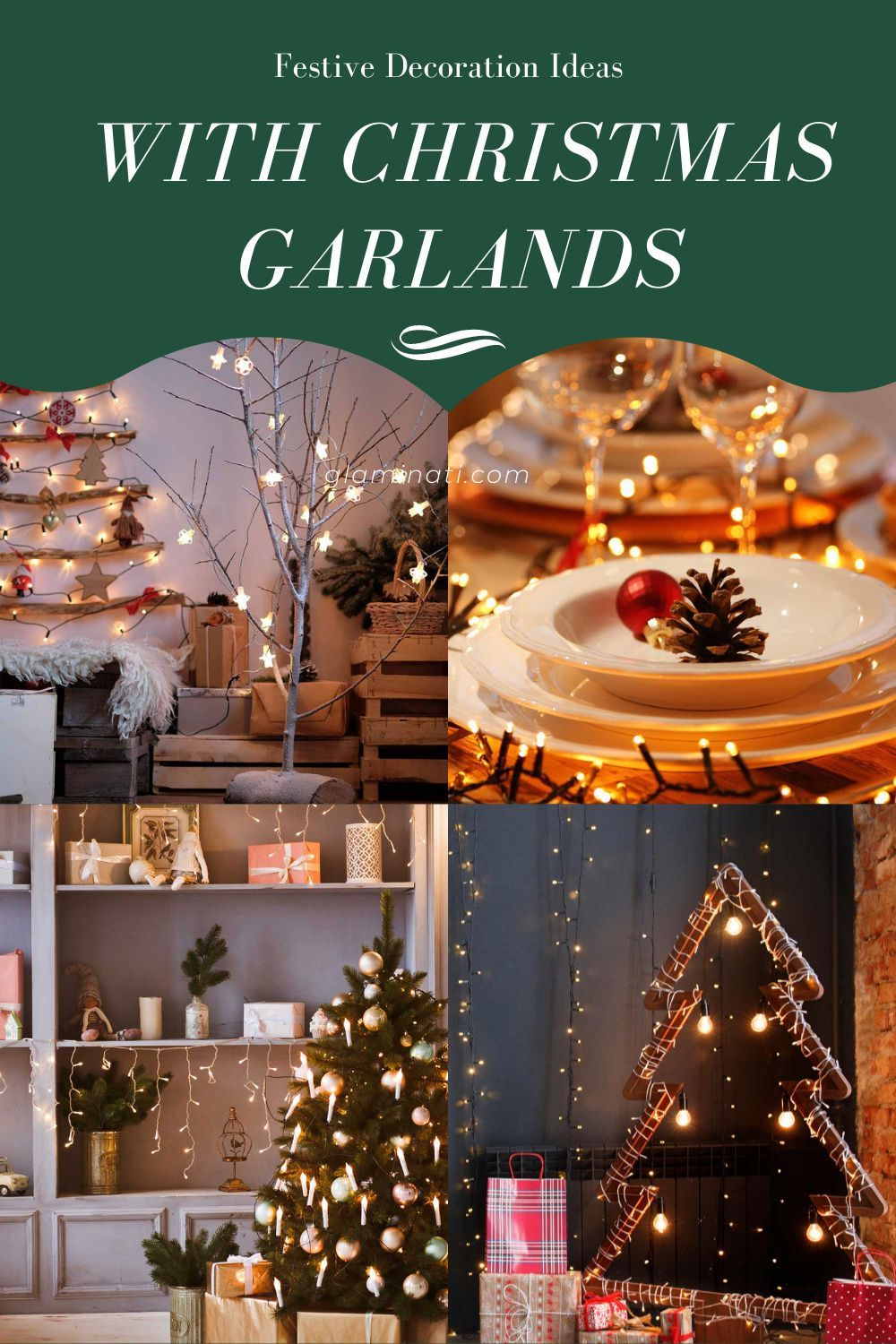 32 Ways To Decorate With Spectacular Christmas Garland Christmas Garland Garland Christmas Decorations