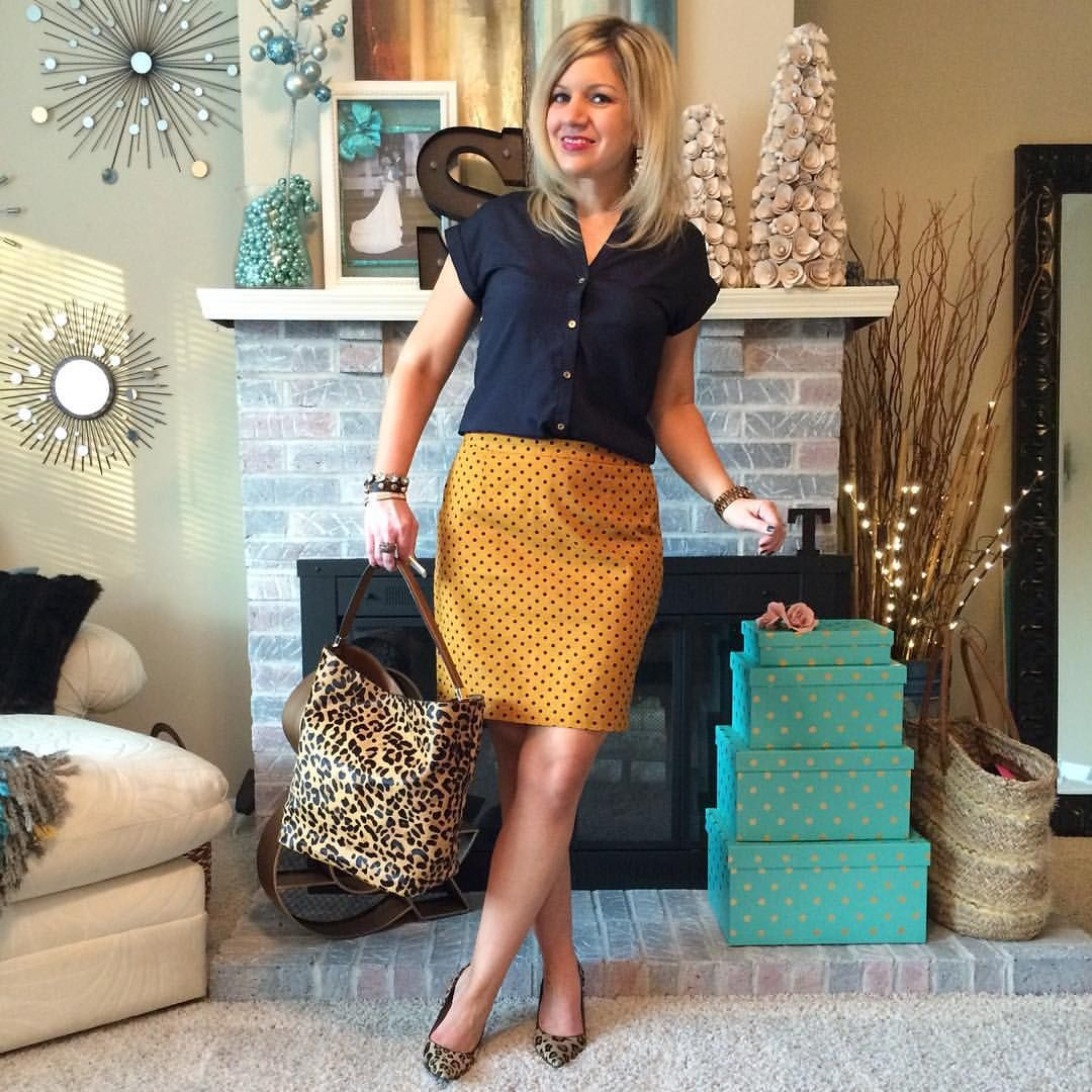 "Sarah Tondello on Instagram: ""Leopard, mustard & some polka dots for @shannonsa #shannonsastylechallenge28 #ootd"""