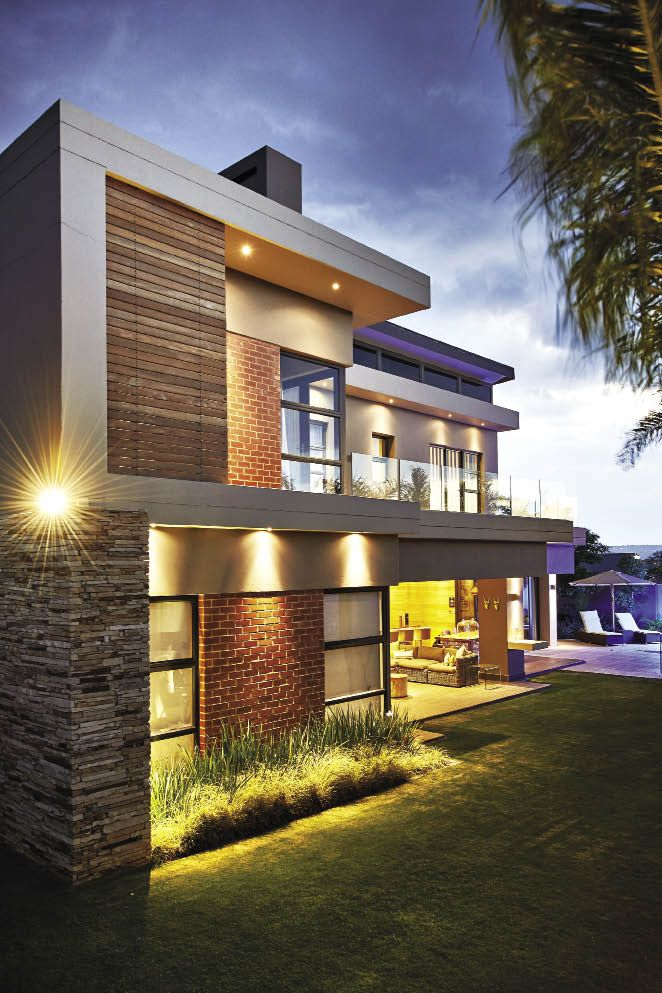 Modern Home Located In Montonate Italy: Located In One Of Johannesburg's Luxury Estates, This