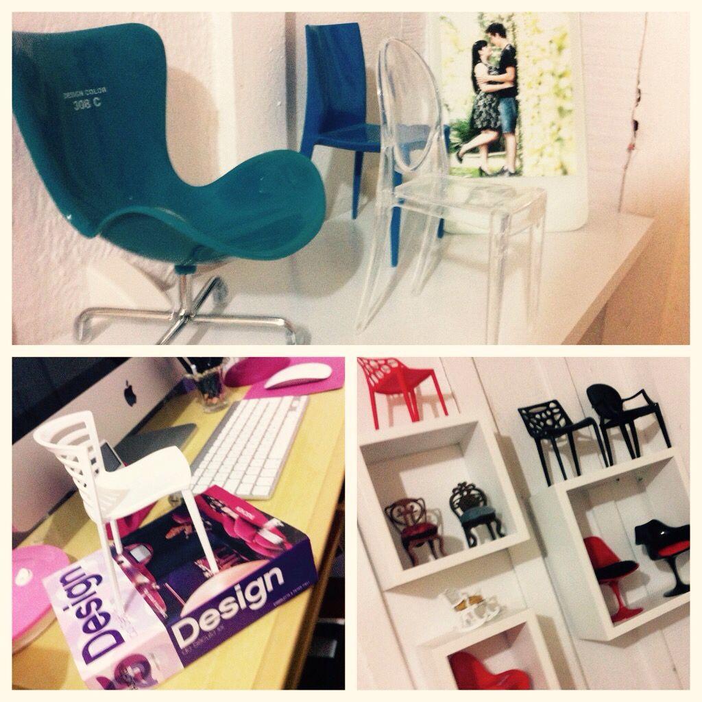 Mini cadeiras, coleção , true love #jesssoares